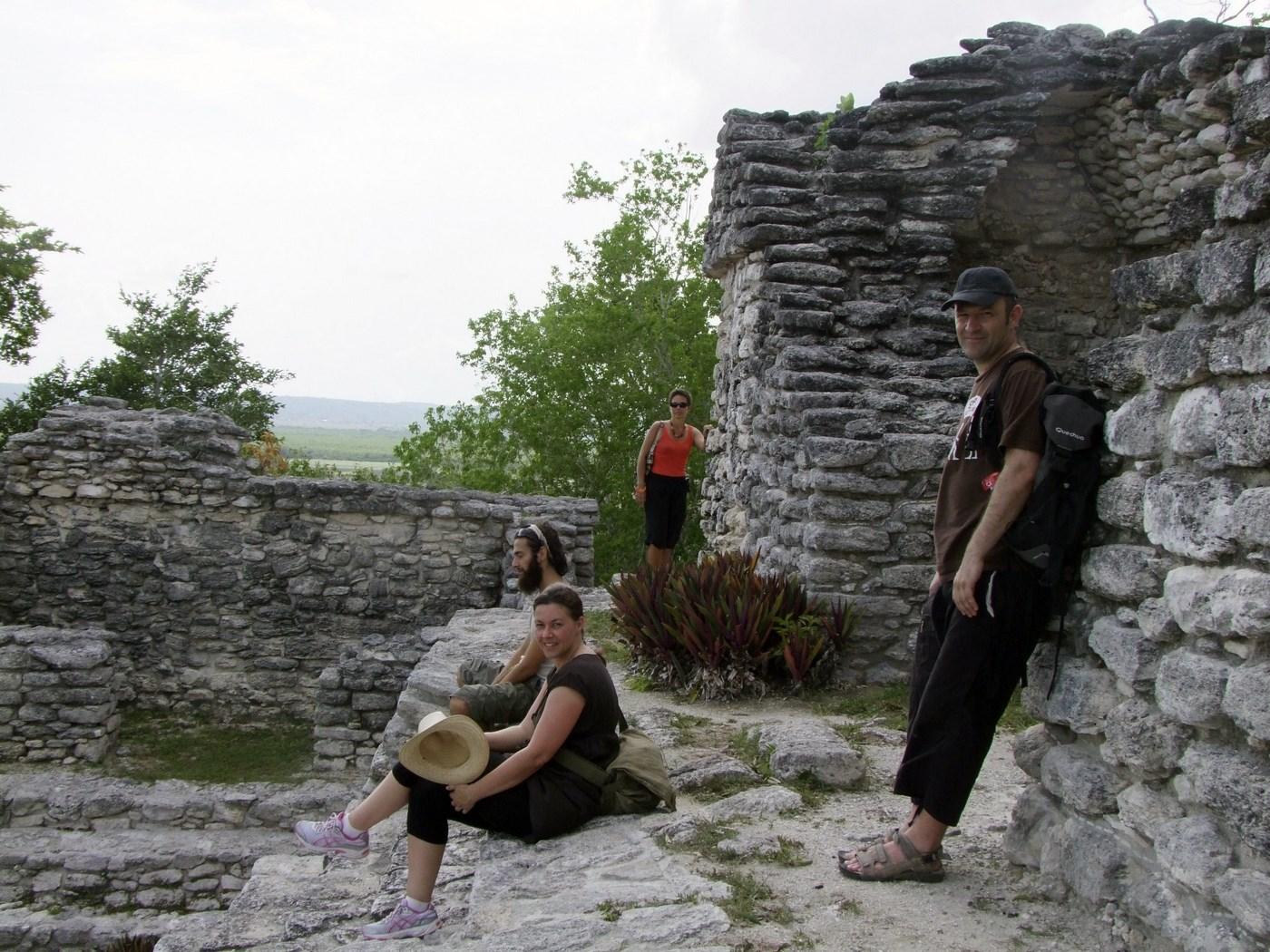 Ruines maya Dzibanche