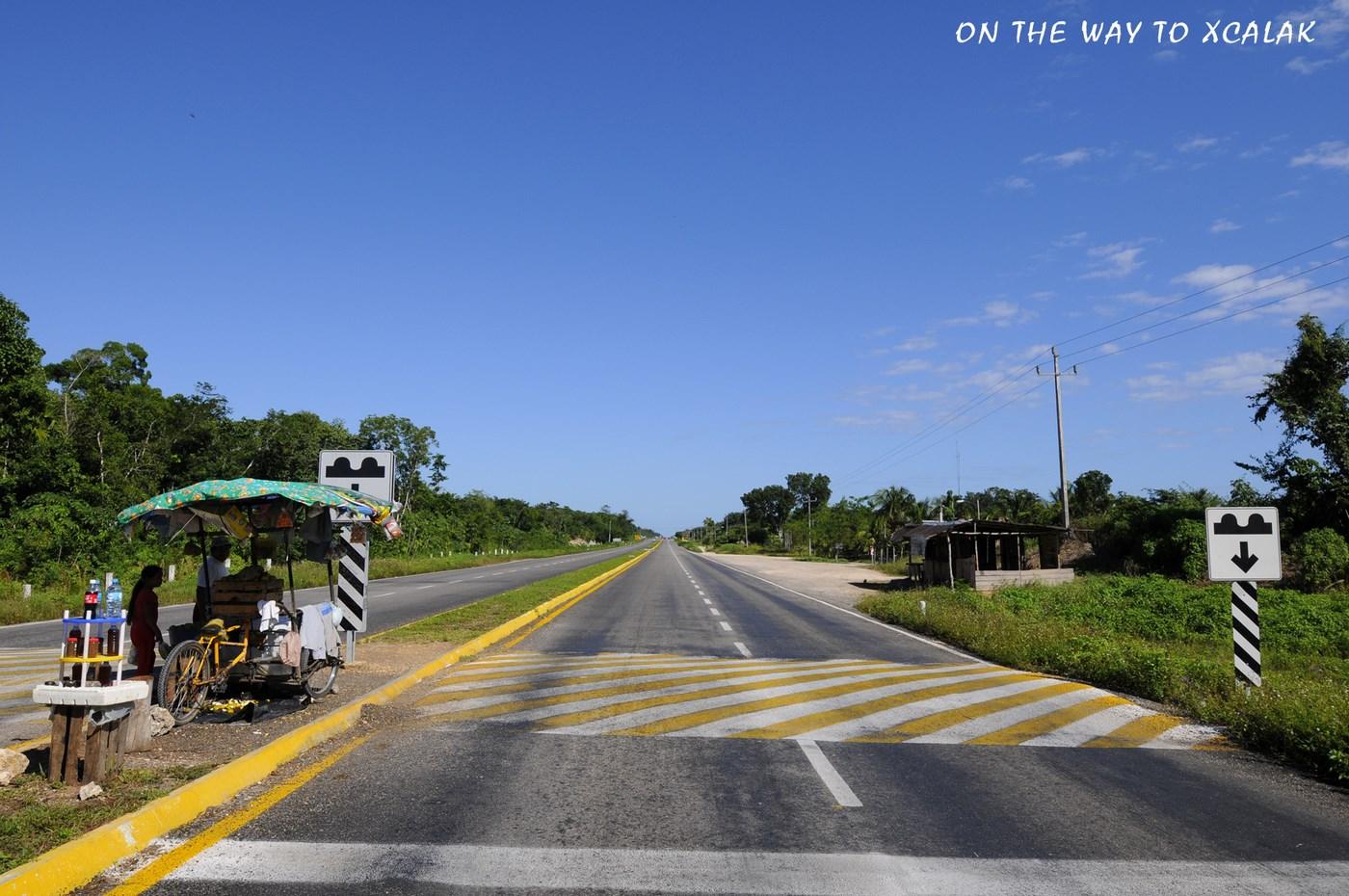 En route pour Xcalak
